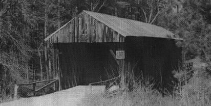 Auchumpkee Creek Covered Bridge in 1940